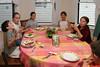 Birthday guests: Benjamin, Isabel, Megan, Isabelle, and Sophie