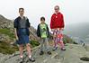 Chantal, Benjamin, and Isabel on Signal Hill
