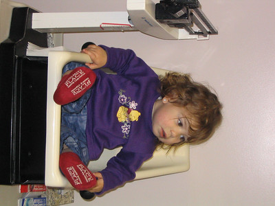 Nov. 20-23, 2003 photos  (Hailey has her 18-month check-up. She is 24 lbs. 12 oz and is 30 3/4 inches tall. Then she goes to Gymboree on Saturday. On Sunday, we went to the Ravens/Seahawks game with Ted and Deanna!)