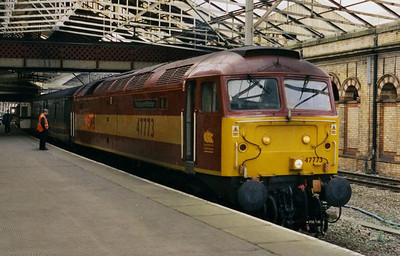 And again at Crewe after working 1K73 1549 ex-Holyhead (04/04/2003)
