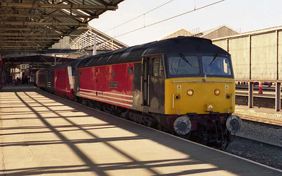 47812 is seen again at Crewe, where it was detached from '1A77' for the electric loco to work forward to London. Hard to believe I'd just done a Virgin '47/8' in preference to an EWS '47/7' down the 'Coast', but it was a sign of the times that this was no