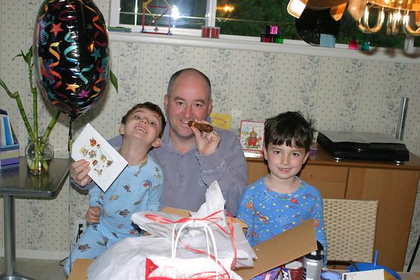 Patrick's Birthday 2003