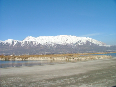 Mt. Timp from Utah Lake