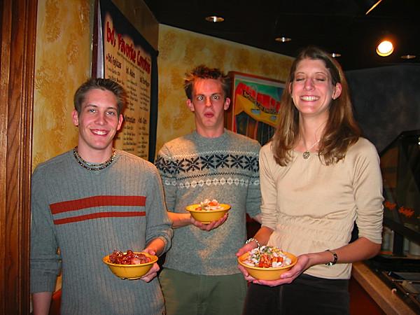 brian normal while luke and kristen frying pan.jpg