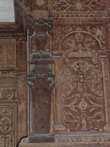 The Solar - Caratyd above fireplace