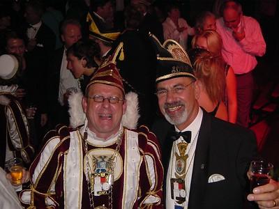 Prins Jaap den Eerste met Chef Protocol Ruud Kleinschiphorst