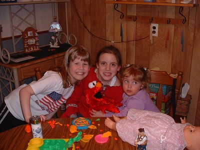 Kerry, Lindzy, and Mikenna 2002