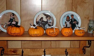 Pumpkin names trimmed