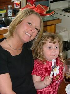 Lori and Mikenna