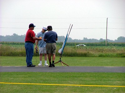 Preparing the rocket
