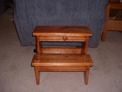 Mikenna's stool