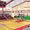 Athletic Center Rendering September 2004
