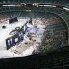 Georgia Dome setup for five FIRST playing fields
