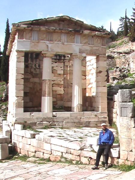 The Treasury of the Athenians at Delphi
