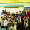 Project Muse volunteers with their students, PS64<br /> Date: 11.09.2004<br /> From Shuttlefly, low res<br /> by: Flora Rodriguez, Archivist<br /> Location: V: Photos