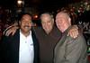"""NEW YORK - NOVEMBER 4: Celebrity Photographer Steve Mack, 28th Pct. Ret. Det. Salvatore """"Sonny"""" Grosso, Ret. Lt. John Quinn at Rao's in New York City (Photo by Steve Mack)"""