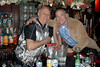 NEW YORK - NOVEMBER 4: 28th Pct. Ret. Nick the Bartender, P.O. Richard Heyward (Photo by Steve Mack)