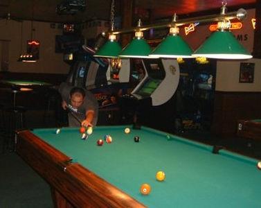 Bryan Playing Pool