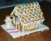 Gingerbread house!  I made it!  My dog ended up eating it!