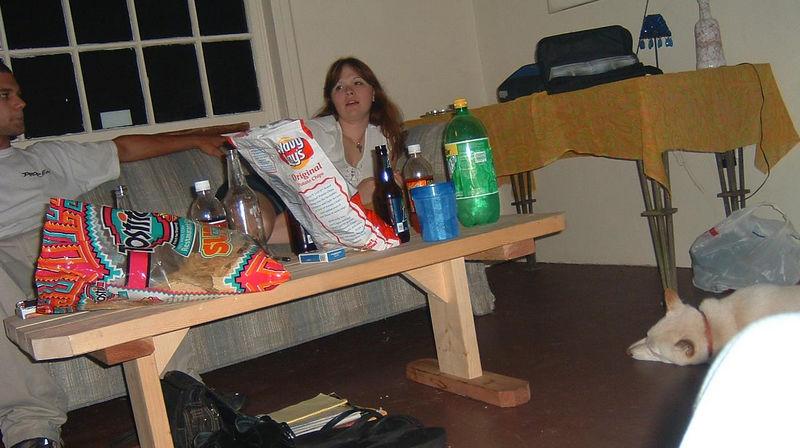 Angela.... Drunk off her ass lol