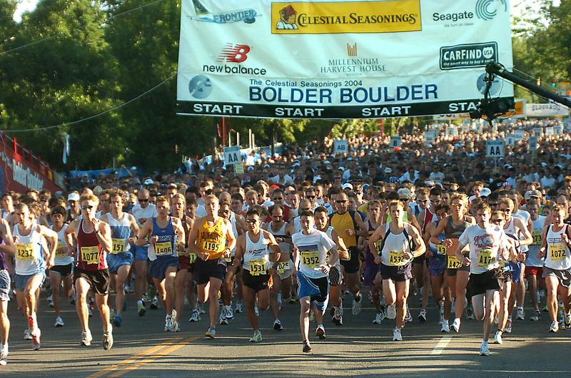 BOLDER BOULDER 2004