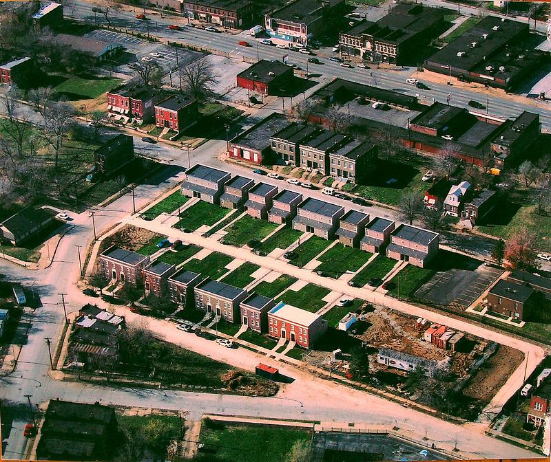 Hope Square aerial-Fall 2004