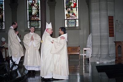 Benedictine from India Ordained to Diaconate April 3
