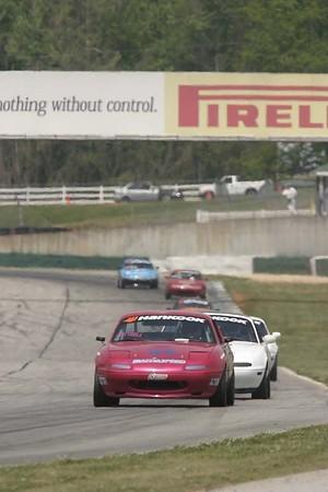 No-0409 Mazdaspeed Miata Cup  Race presented by Hankook