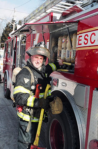 My pal, Brian Evangelista..working one of his 1st Weymouth fires!
