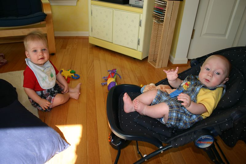 Still in PA, our visit with the O'Dea's - Declan & Conor
