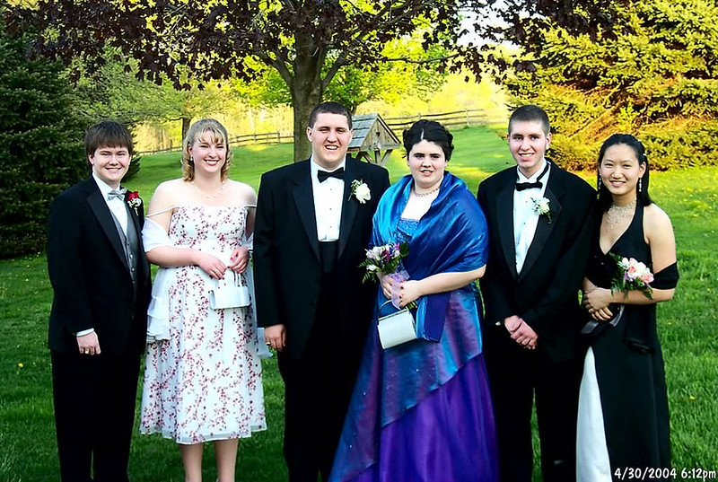 3 couples off to the prom
