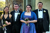 two couples off to prom