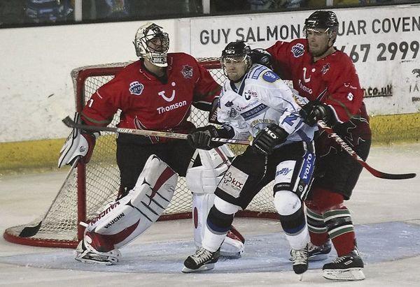 Blaze v Cardiff Devils - 31/10/2004