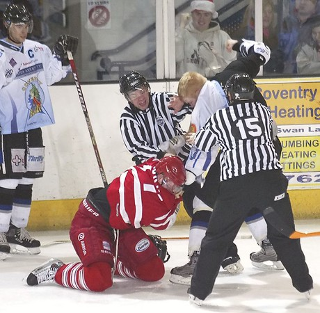 Blaze v London Racers - 19/12/2004