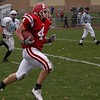 P.J. races into the end zone in the Willowbrook playoff game.