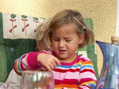 2004-10-03 Wir haben Besuch + Herbstgarten