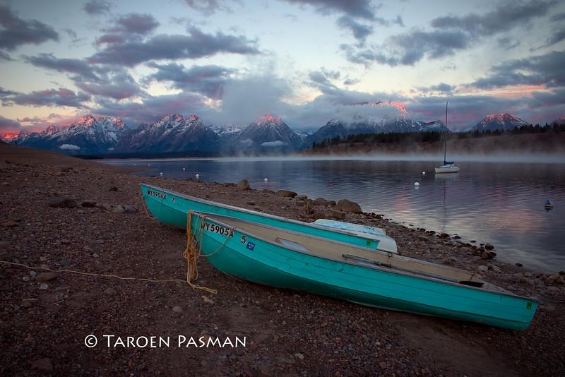 Boats at Lake Jackson