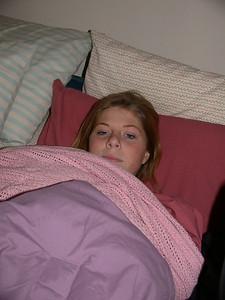 Jenn snuggles