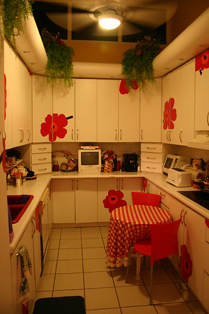 Hippie-ass kitchen