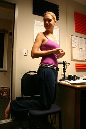 Meg gets taller