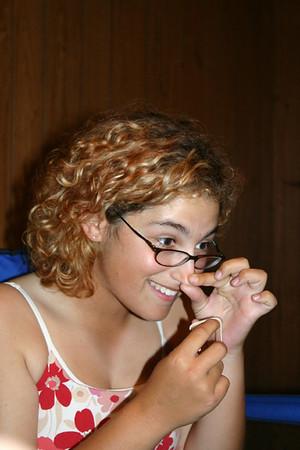Jessie shows us her nose