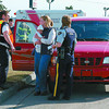 20th Willow MVA/Wednesday Brent Braaten-April 6/2004  There were no injuries in a two vehicle accident at 20th and Willow Tuesday afternoon bewtween a car and small SUV. The SUV was out on a test drive..  I dont think the perspective buyers wanted to test out the safty equipment to this extent???