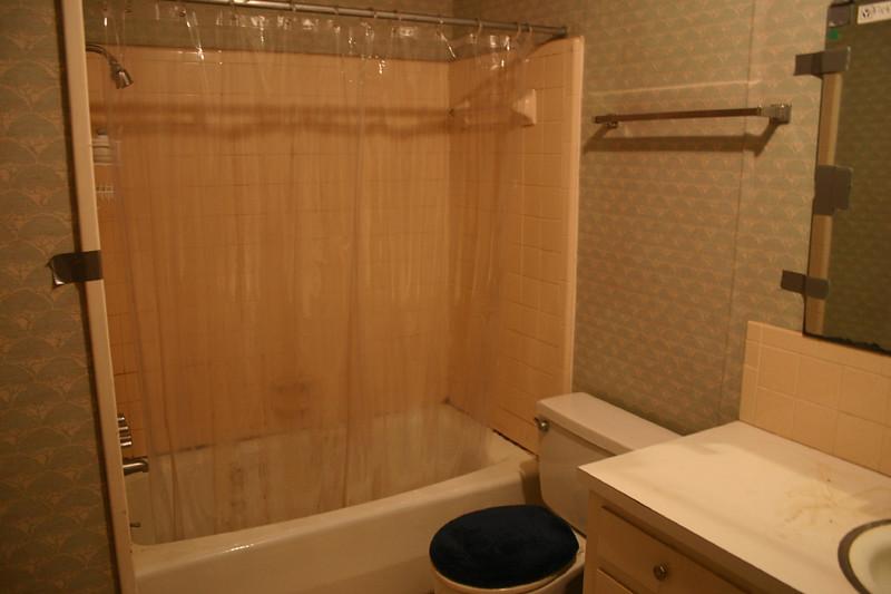 Bathroom empty