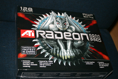 Video card - ATi Radeon 9800 Pro 128mb