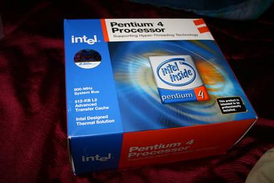 CPU - P4 2.60 GHz, 800MHz FSB