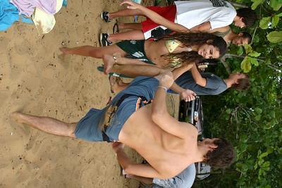 Marc teaches Talia to fight
