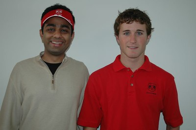 Rajiv with NASCAR Driver Kasey Kahne