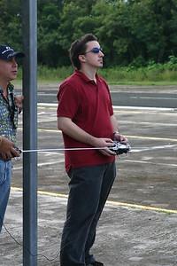 Dan makes his ninth flight