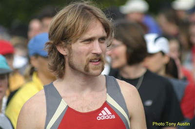 2004 Bazan Bay 5K - Steve Osaduik wondering if can keep his win streak alive