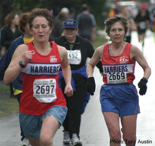 2004 Bazan Bay 5K - Adena Cronk and Marcia Stromsmoe both got into the medals